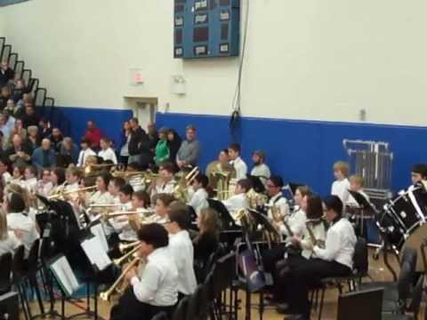 Minooka Intermediate School Winter Concert 2012