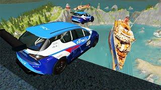 Beamng drive - High Speed Random Car Jumps #72 | BeamNG-Destruction