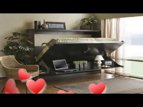 Hidden Murphy Bed Wall Design Ideas Youtube