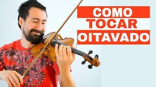 Olá Heroes! Hoje eu vou ensinar como tocar oitavado no violino (ccb...