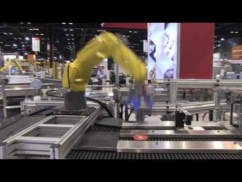 Robotic Collaborative Conveyor System with Fenceless Packaging Line Automation - Shuttleworth