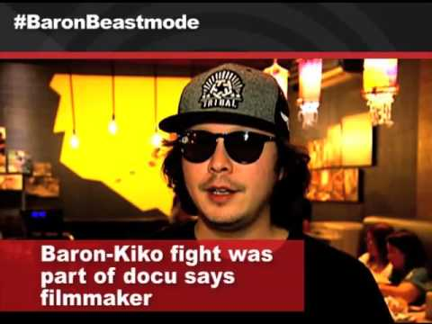 In the Loop: Baron Geisler - Kiko Matos fight staged