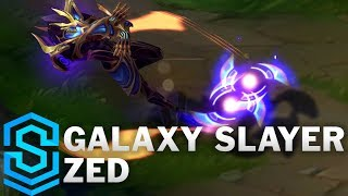 Galaxy Slayer Zed Skin Spotlight - Pre-Release - League of Legends