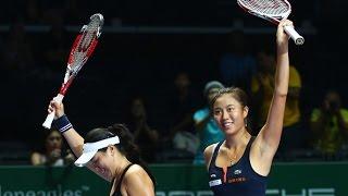 Chan/Chan vs Garcia/Srebotnik | 2015 WTA Finals Highlights