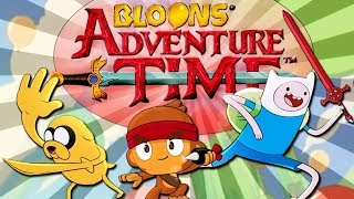 CUKIERKOWY NOWY BLOONS TD | #001 | Bloons Adventure Time TD | PL