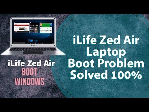 ilife Zed Air Boot Problem, Windows Setup on i life zed air