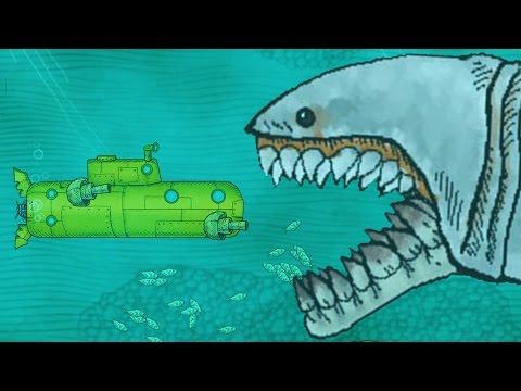 MASSIVE SHARK ATTACK!  We Need to Go Deeper Gameplay Co-Op Gameplay part 2