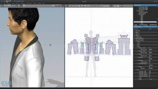 46 3d Clothing Making Man's Jacket With Dxf 2 Reversing Collar And Lapel