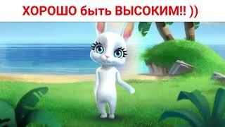 ЭХХ Хорошо быть ВЫСОКИМ!! )) Приколы от Зайки Zoobe бесплатно.