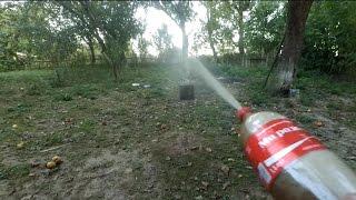 как сделать водяной пистолет из бутылки
