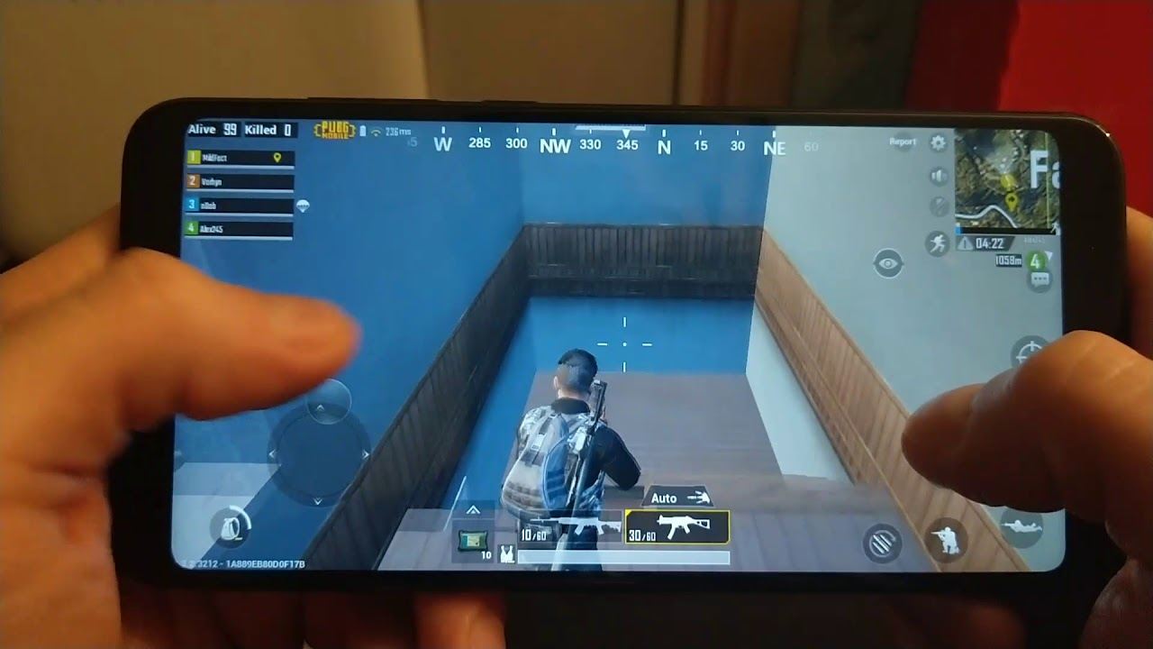 PUBG MOBILE ENGLISH Xiaomi Redmi 5 Plus Game Test