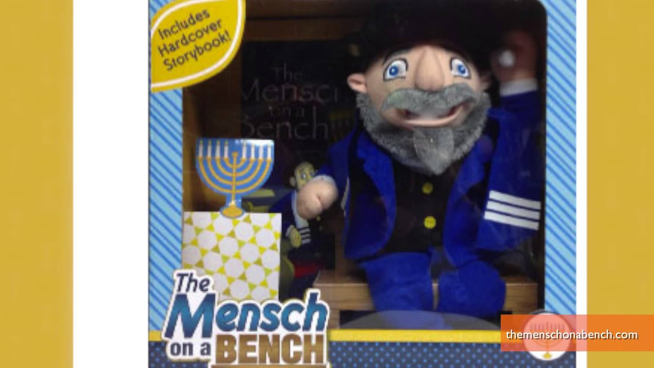 Mensch On A Bench Sold As The Jewish Alternative To Elf