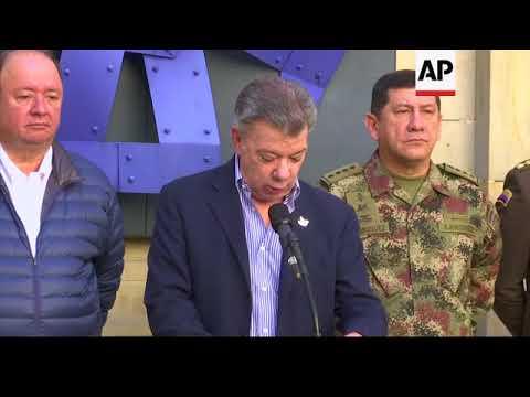 Colombian police kill top drug-trafficking fugitive