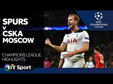 Tottenham 3-1 CSKA Moscow   Champions League highlights New Flash Game