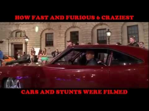 how fast and furious 6 craziest cars stunts were filmed crash compilation flying cars PART ONE