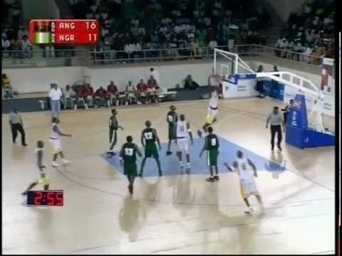 Nigeria versus Angola BasketBall [All Africa Games 2003]