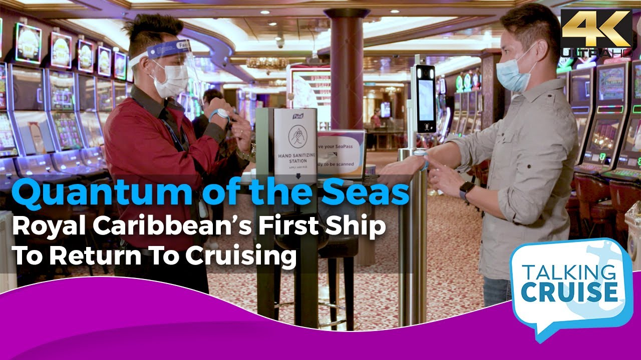 Onboard Royal Caribbean's First Ship to Return to Cruising (Quantum of the Seas)