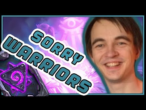 I feel sorry for all the Warriors on ladder! | Spell Mage | Rise of Shadows | Hearthstone