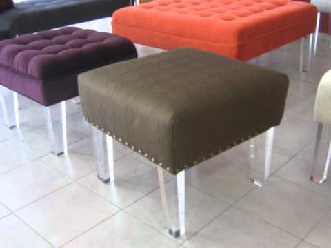 Patas de acr lico para sillas o sillones youtube for Patas de muebles