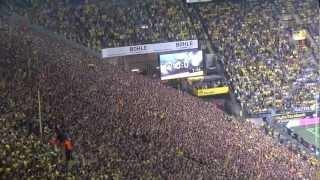 Stimmung Südtribüne: Borussia Dortmund - S03+1 141. Revierderby BVB 20.10.2012