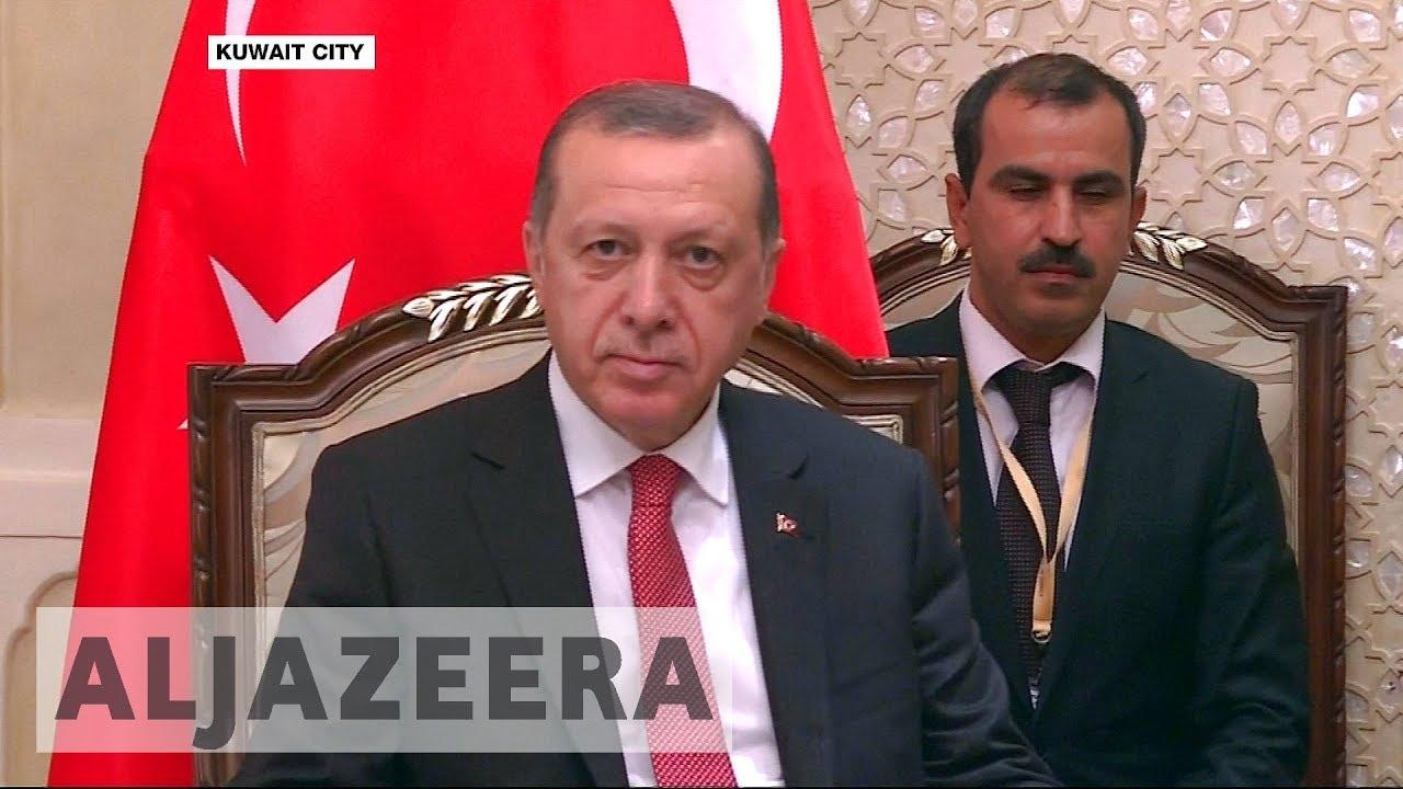 Turkey's Erdogan visits region to help ease Gulf crisis