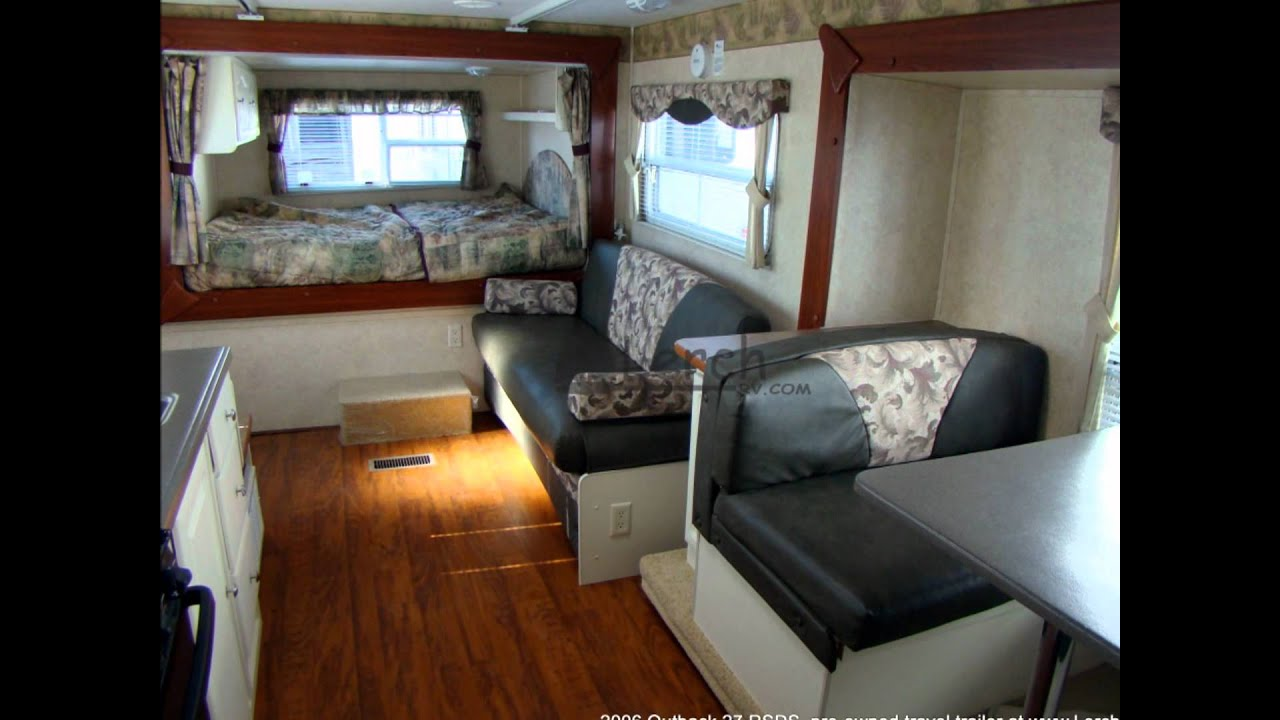 26 Ft Travel Trailer Floor Plans 2006 Outback 27 Rsds Travel Trailer By Keystone Rv Lerch