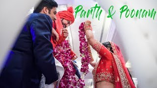 Cinematic wedding teaser video_Parth & Poonam