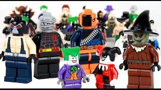 Complete Lego Batman Rogue Gallery Collection + Customs Showcase
