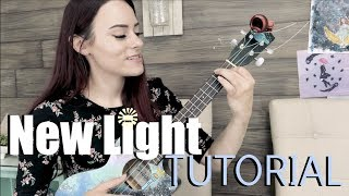 Download Lagu New Light - John Mayer (Kelaska Ukulele TUTORIAL) Mp3