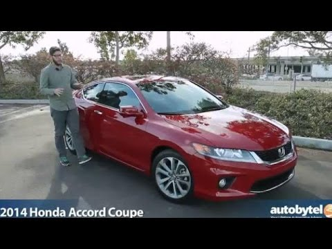 2014 Honda Accord Coupe Test Drive Video Review Youtube