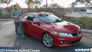 2014 Honda Accord Coupe Test Drive Video Review