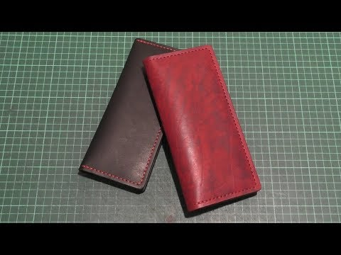 Бумажники Ручной Работы из Натуральной Кожи! Кожа Краст 2мм! Handmade!