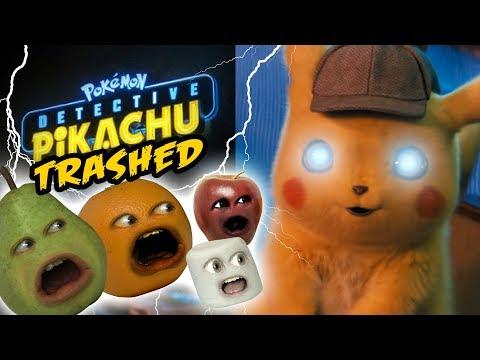 Annoying Orange - Detective Pikachu Trailer TRASHED!!