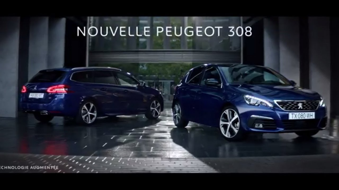 pub nouvelle peugeot 308 france 2017 youtube. Black Bedroom Furniture Sets. Home Design Ideas