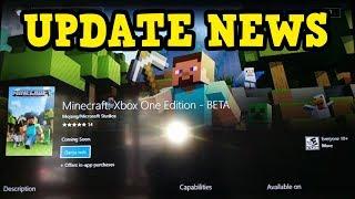 Minecraft Xbox Update BETA - Where Is It????