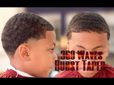 waves burst taper