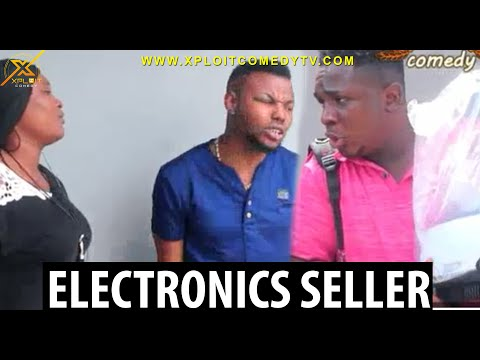 The Electronics seller 😂😂
