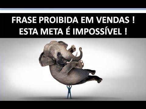 Frase Proibida Em Vendas 4 Não Vou Bater A Meta Palestra De Vendas André Ortiz