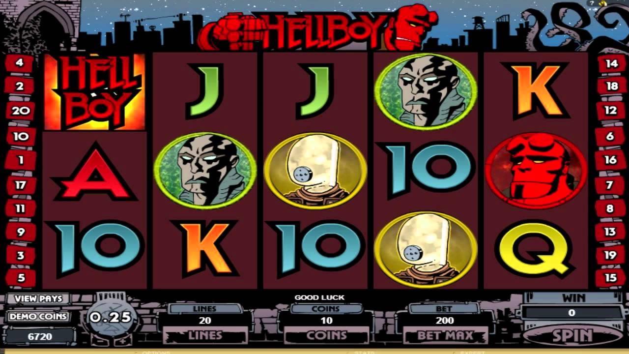 HellBoy Slot Machine