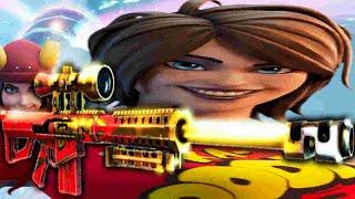 TNTina turns herself iฑto a Sniper Rifle