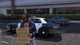 GTA 5 - Cuộc sống hằng ngày của người vô gia cư ở nước Mỹ | ND Gaming