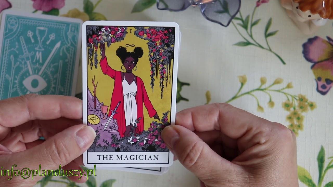 The Modern Witch Tarot   pierwsze spotkanie i pokaz kart
