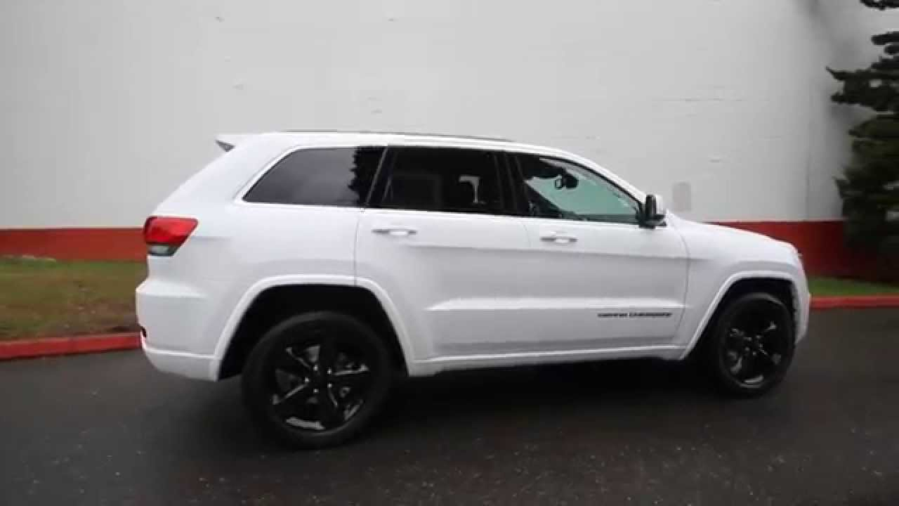 Chrysler Dodge Jeep Ram Of Seattle >> 2015 Jeep Grand Cherokee Altitude | White | FC660168 | Bellevue | Seattle - YouTube