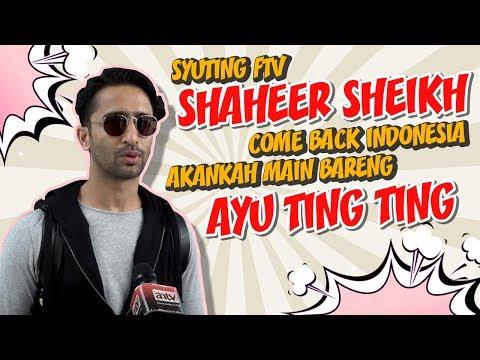 Shaheer Sheikh Syuting FTV. Akan Main Bareng Ayu Ting Ting?