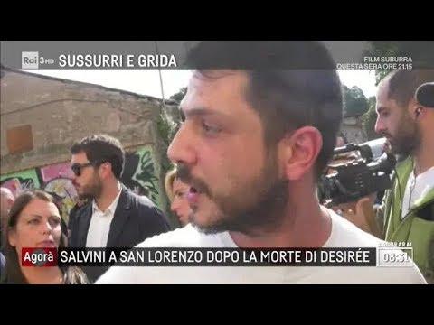 Desirée, 16enne uccisa dal branco - Agorà 25/10/2018