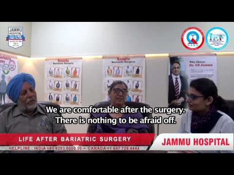 50 Year housewife from Brampton, Canada has undergone Bariatric Surgery in India