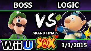 S@X - MVG WS | Boss (Luigi) Vs. VGBC | Logic (Diddy Kong, Olimar) SSB4 GF - Smash Wii U - Smash 4