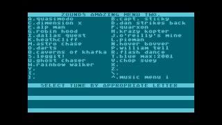 whistler's brother & flash dance music for Atari 8-bit
