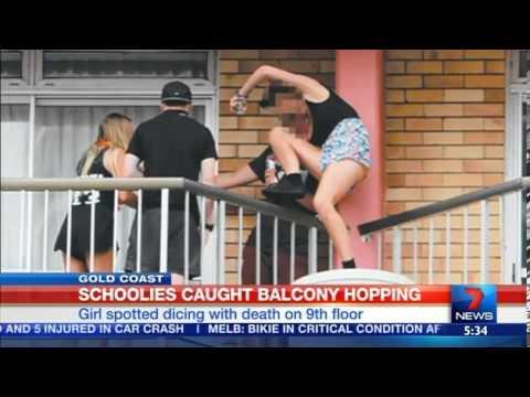 Teen killed in Schoolies 'balcony fall' - mygc.com.au