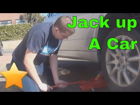 how to work a car jack